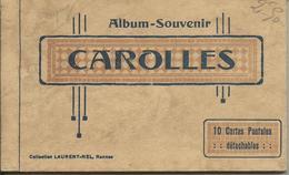 Carnet 10 Cpa CAROLLES PLAGE - Andere Gemeenten