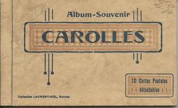 Carnet 10 Cpa CAROLLES PLAGE - France