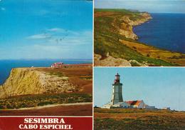 PORTUGAL / SESIMBRA  -   Lighthouse  ,  Leuchtturm - Faros