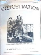 L'Illustration, Hebdomadaire - 31 Octobre 1936, N° 4887: Général Varela, Manifestations à Bruxelles, Espagne En Guerre - Periódicos