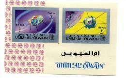 UMM AL QIWAIN-UIT-1966_VANGUARD 1-Bloc  NON Dentelé***MNH - Ruimtevaart