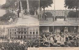 4 CPA:CHALONS SUR MARNE (51) CONCOURS DE PÊCHE,5 Me RÉGIMENT DE CHASSEURS EN 1907,SOLDATS ALLEMANDS PRISONNIERS GARE - Châlons-sur-Marne