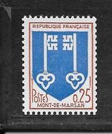 N° 1469 A NEUF ** - N° ROUGE AU VERSO - COTE = 100.00 € - Unused Stamps
