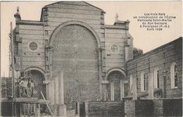 Perpignan : Les 3 Nefs En Construction église St Martin - Perpignan
