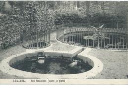 Beloeil - Les Fontaines (dans Le Parc) - Edit. G. Decourt, Beloeil - 1914 - Beloeil
