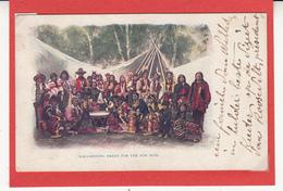 Carte      Etats Unis    INDIENS  Carte Relief  2 Scan - Indiani Dell'America Del Nord