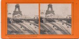 Paris Gare Exposition De 1900 La Gare Du Champ De Mars - Openbaar Vervoer