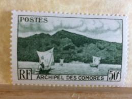 Archipel Des Comores Baise D'Anjouan - 1950-52( Neuf (Y&T N°2) - Coté ..€ (Tous En Très Bonne état Garantie) - Unused Stamps