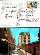 1575)cartolina - Vittoria-cinema Roxi-palazzo Cappello - Vittoria