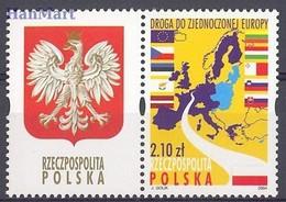 Poland 2004 Mi Zf 4105 Fi Zf 3955 MNH ( ZE4 PLDzf4105b ) - Géographie