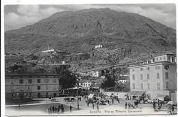 Sondrio - Piazza Vittorio Emanuele - Mercato. - Sondrio
