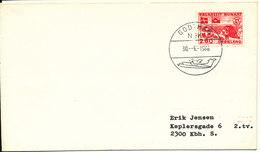 Greenland Cover Sent To Denmark Godthab 30-6-1986 - Greenland