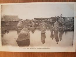 Carnac.les Alignements.menhirs.précurseur.édition Petitjean 57 - Carnac