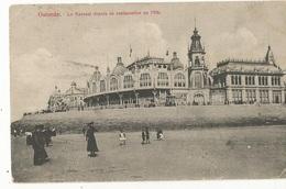 CPA ,Belgique ,N°115 , Ostende , Kursaal  , Depuis Le Restaurant En 1908 ,animée, Ed. V. O,1908 - Oostende