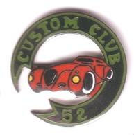 L133 Pin's FERRARI ? PORSCHE ? Moto CUSTOM CLUB HAUTE MARNE Superbe Qualité Egf Achat Immédiat - Ferrari