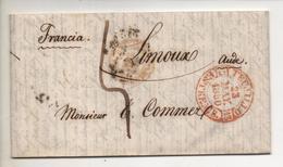 Lettre De TRUJILLO Province De CACERES (Espagne) En Mai 1850 - Espagne