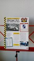 Fiche Collection Course Et Formule 1 Talbot-Lago T 26 C - Automobile - F1