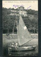 CPA - MORLAIX - Les Bords De La Rivière - Bateau De Pêche, Animé - Morlaix