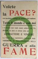 10743 Militari - Volete La Pace? - Heimat