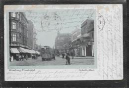 AK 0410  Hamburg-Eimsbüttel - Schulterblatt / Karte Am Postweg Gelaufen Um 1915 - Eimsbüttel