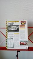 Fiche Collection Course Et Formule 1 Ferrari 330 P4 - Automobile - F1