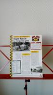 Fiche Collection Course Et Formule 1 Bugatti Type 35 - Automobile - F1