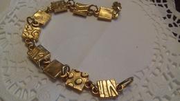 BRACELET METAL DORE TRES JOLI - Bracelets