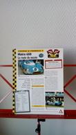 Fiche Collection Course Et Formule 1 Matra 650 - Automobile - F1