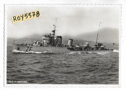 Tema Navi Marina Italiana Nave Zeffiro Veduta Nave In Navigazione - Guerre