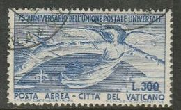 Vatican City, 1949, U.P.U., Lire 300 Blue, Used - Vatican