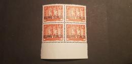 Kouang Tcheou Yvert 107** Bloc De 4 Gomme Coloniale - Kouang-Tcheou (1906-1945)