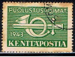 FINLANDE 355 // YVERT 4 (militaire) // 1943 - Militair
