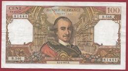 "100 Francs ""Corneille"" Du 01/04/1971.K---F/TTB+---ALPH.B.546 - 100 F 1964-1979 ''Corneille''"