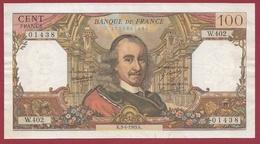 """100 Francs """"Corneille"""" Du 03/04/1969.K---F/TTB+---ALPH.W.402 - 1962-1997 ''Francs''"""