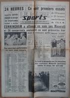 24 H Du Mans 1961.lot De 12 Pages De Différents Journaux. - Desde 1950