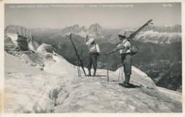 2a.342. Dolomiti - GHIACCIAIO Della Marmolada - Verso Il Sassolungo - Bolzano - 1932 - Italie