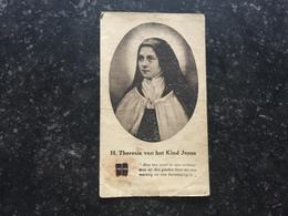 20B _ Images Dont Une Avec Relique Sainte Theresia Tissu - Devotion Images