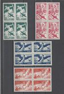 FRANCE.  YT   PA N° 16/19  Neuf **  1946 - 1927-1959 Nuevos