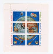 Mozambique 1982-Spoutnik 1-YT 884/9***MNH-Le Feuillet - Africa
