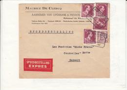 Enveloppe Express - 1934-1935 Leopoldo III