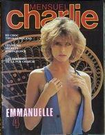 MENSUEL CHARLIE   °° N° 23  Emmanuelle  4 Fevrier 1984  SEPTEMBRE 1983 - Kranten