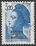ST PIERRE  ET MIQUELON N° 466 OBLITERE - St.Pierre & Miquelon