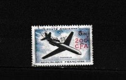 PA 59 OBL  Y & T  Caravelle   « Poste Aérienne »  *REUNION*  58/53 - Réunion (1852-1975)