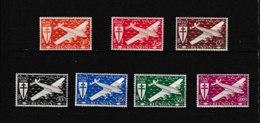 PA  28 29 30 31 32 33 34   **  Y & T T  Série De Londres  « Poste Aérienne »  *REUNION*  58/53 - Réunion (1852-1975)