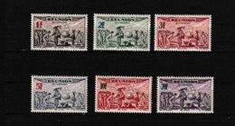 PA  18 19 20 21 22 23    **  Y & T   Tricentenaire Du Rattachement à La France  « Poste Aérienne »  *REUNION*  58/53 - Réunion (1852-1975)