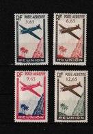 PA  2 3 4 5     **  Y & T   Avion Survolant L'ile « Poste Aérienne »  *REUNION*  58/53 - Réunion (1852-1975)