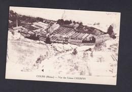 Cours (69) Vue Des Usines Cherpin ( Vue Aerienne Usine Industrie Photo Combier ) - Cours-la-Ville