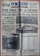 24 H Du Mans 1966.Ford Fonce Vers La Victoire. - Desde 1950