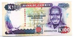 Zambie  / Pick 34  / 100 Kwacha  /  SPL - Zambia