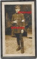 OORLOG GUERRE Louis Cornelis Mechelen Brancardier Soldaat 1914 1918 INVALIED En Overleden Te Dendermonde 1934 Van Keer - Devotion Images